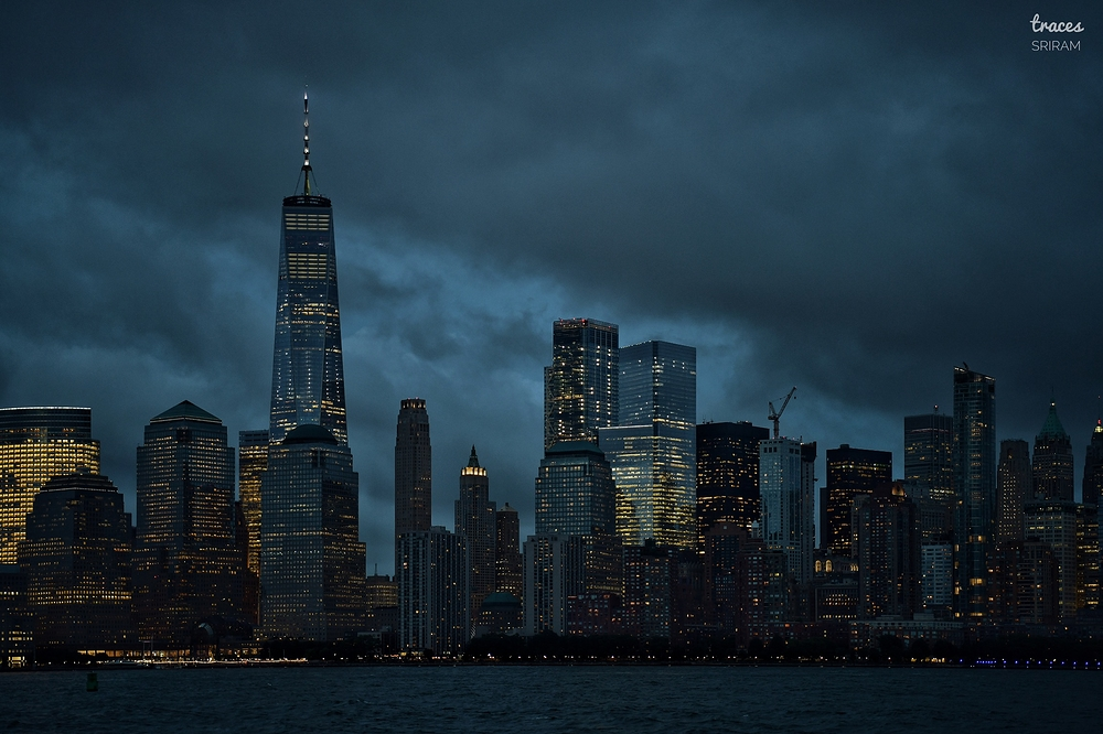 Moody evening at NYC
