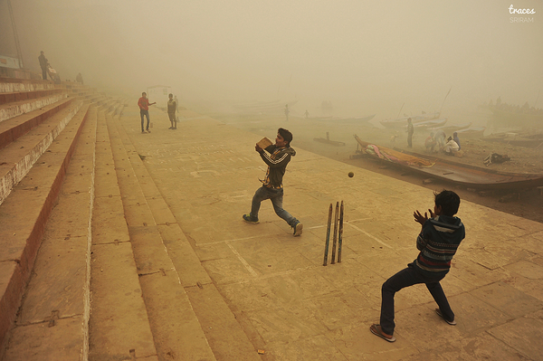 Cricket on the ghat
