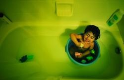 Boy! ... it's Bath time!!