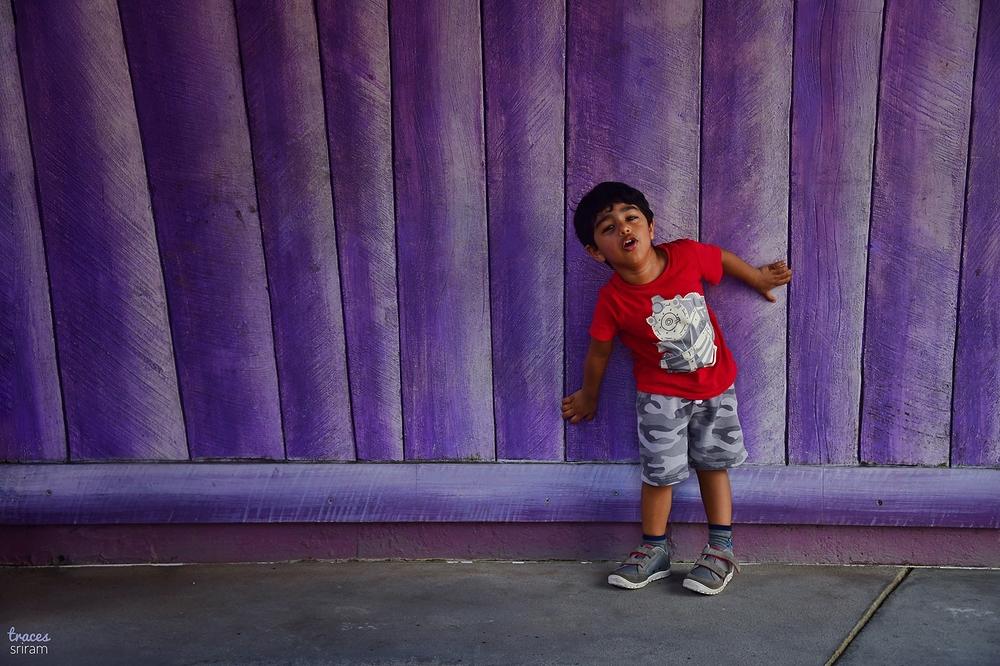 Violet walls