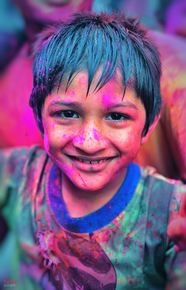 Warming up for Holi