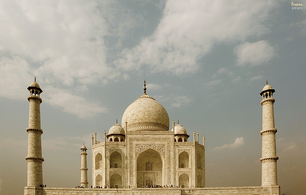 Face to face with Taj