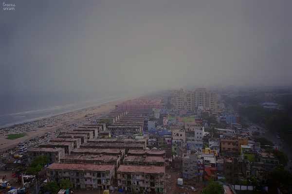 Rainy day in Madras