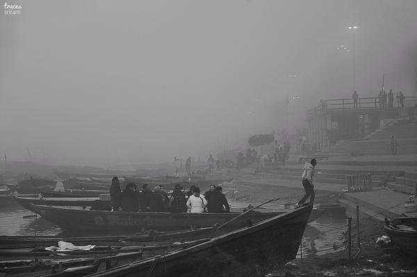 Banks of river Ganga