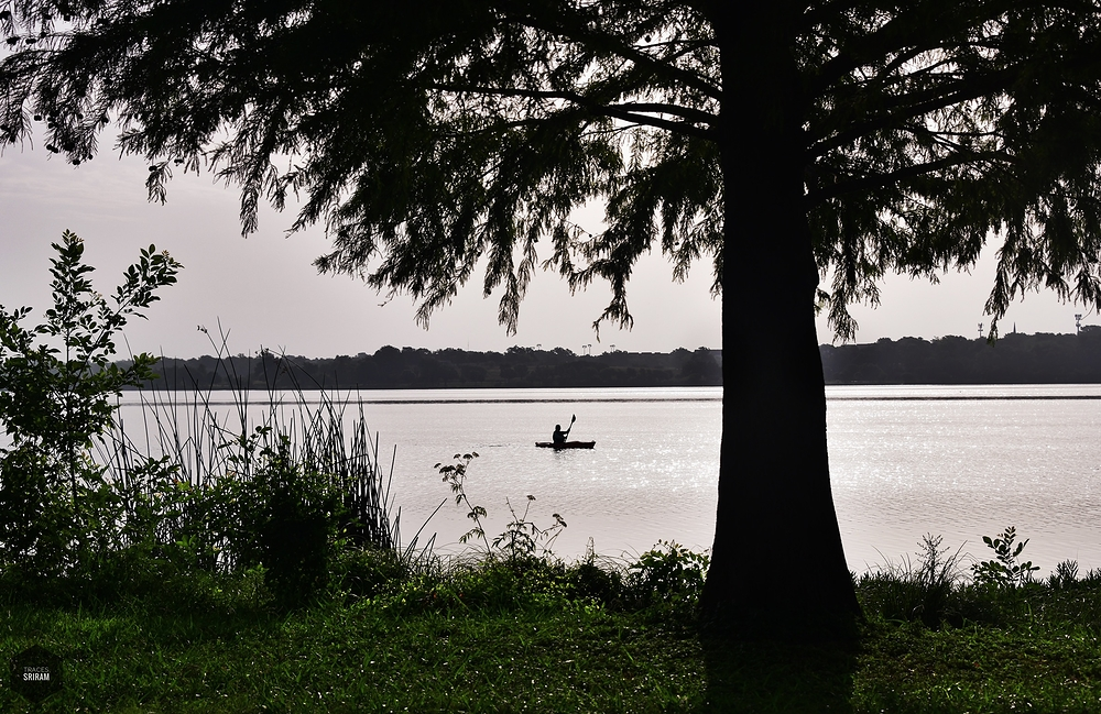Still lake fishing