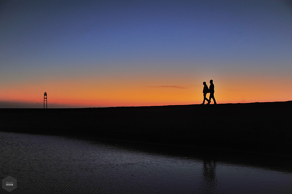 The twilight walk