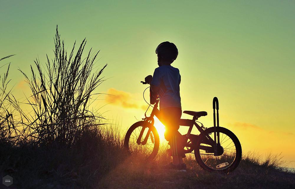 Biker's break