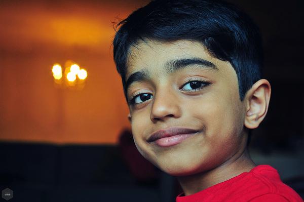 Arju is all smiles