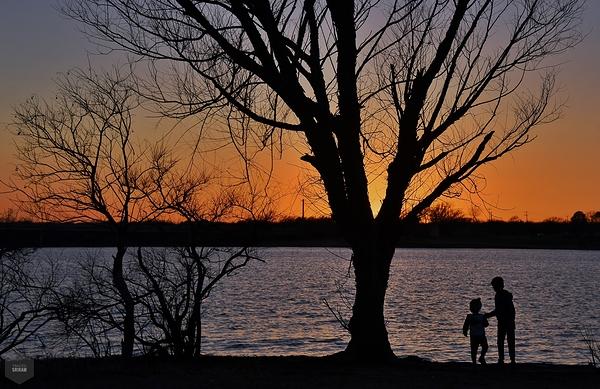 Lakeside evening