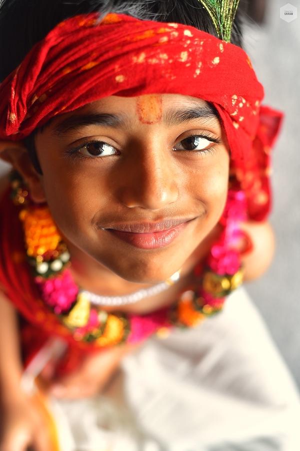 Krishna's smile