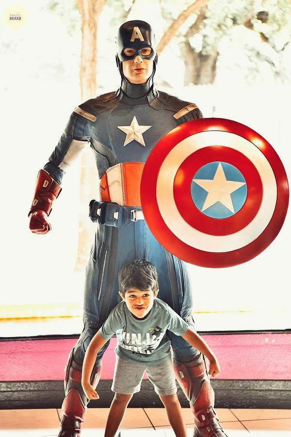 Like his superhero