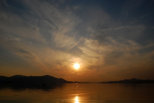 Sunset on Geoje