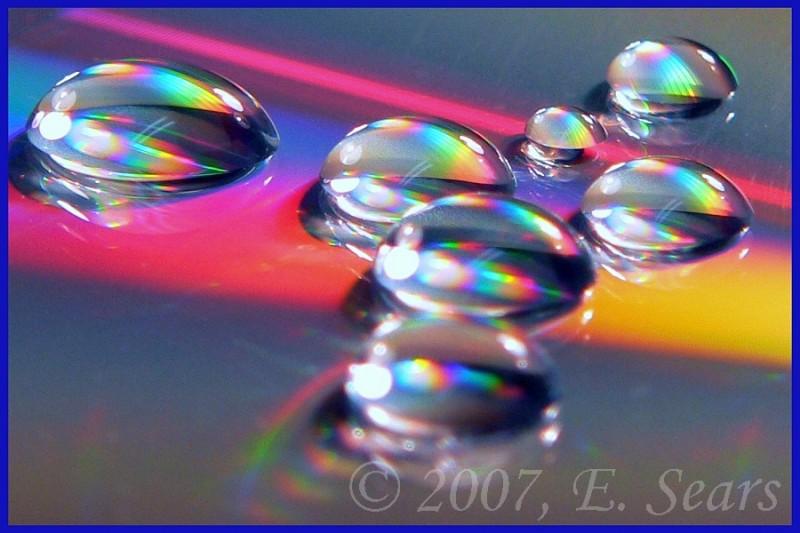 abstract water drop photo