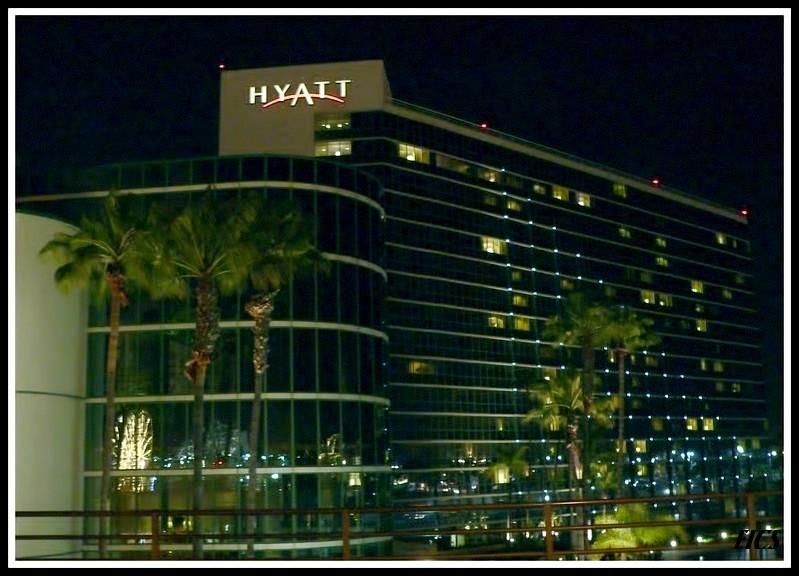 Long Beach Hyatt night