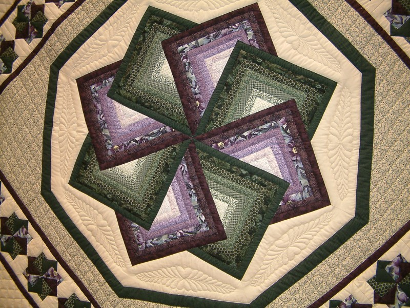 High selling quilt at charity auction