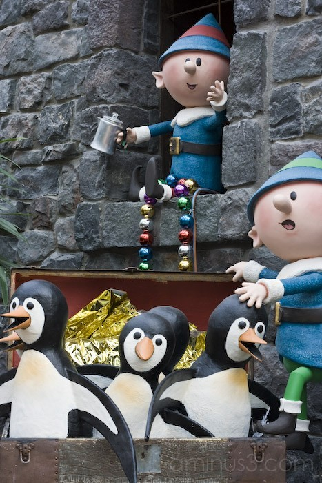 Elves & Penguins ... Oh My!
