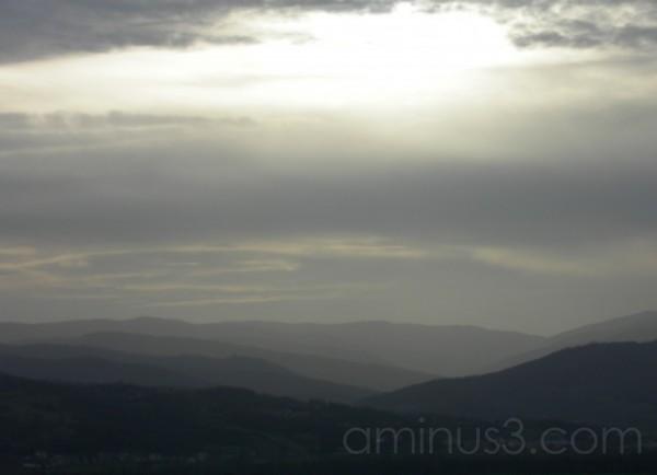 the purple hills of umbria