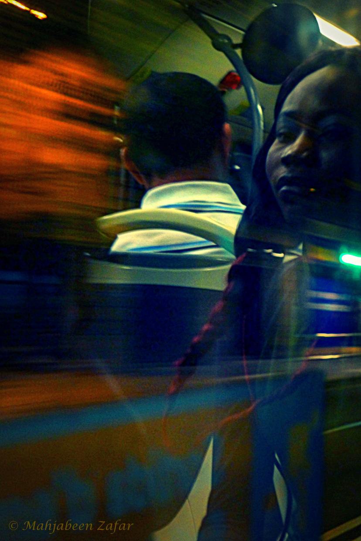 Phantoms on the Night Bus
