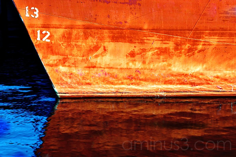 reflections of a crab boat