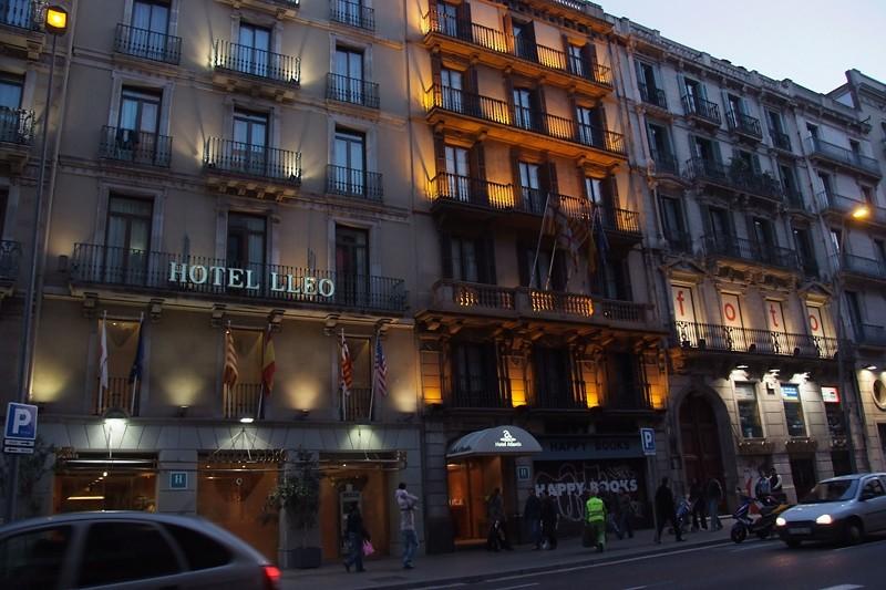 calle pelayo barcelona spain