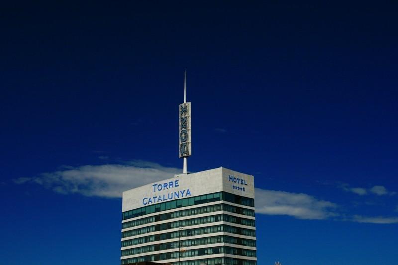 torre catalunya barcelona spain