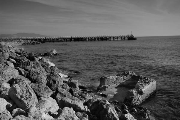 Industrial beach