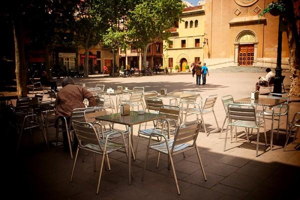 A small plaza