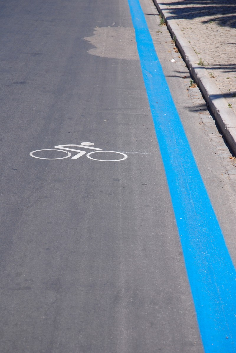 blue line bike