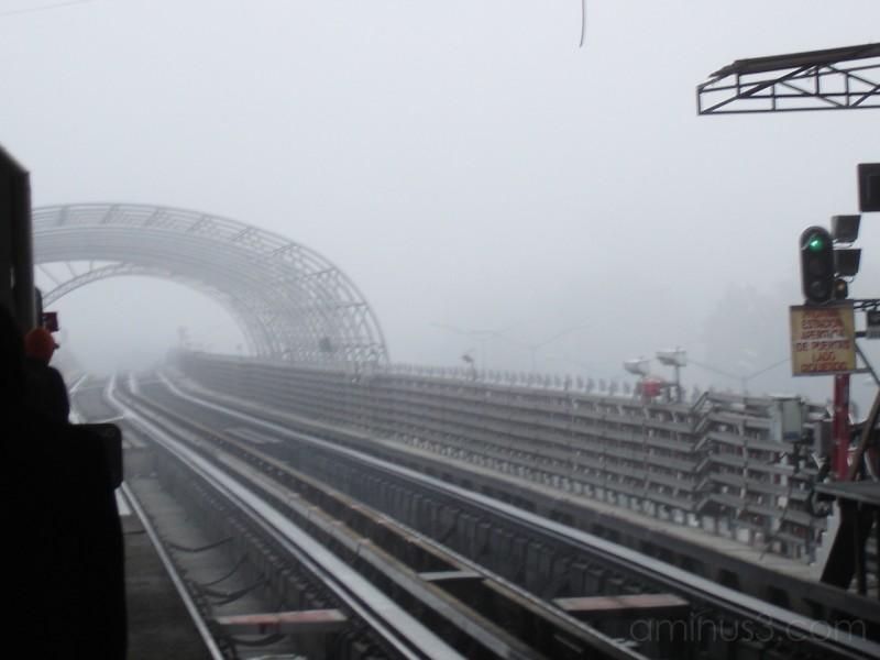 Mañana Nublada en el metro