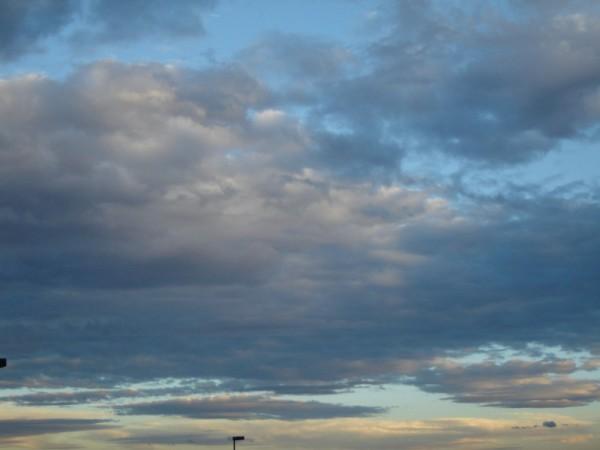 Nubes sobre Juriquilla