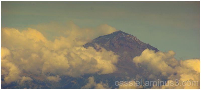 El volcán POpoctépetl