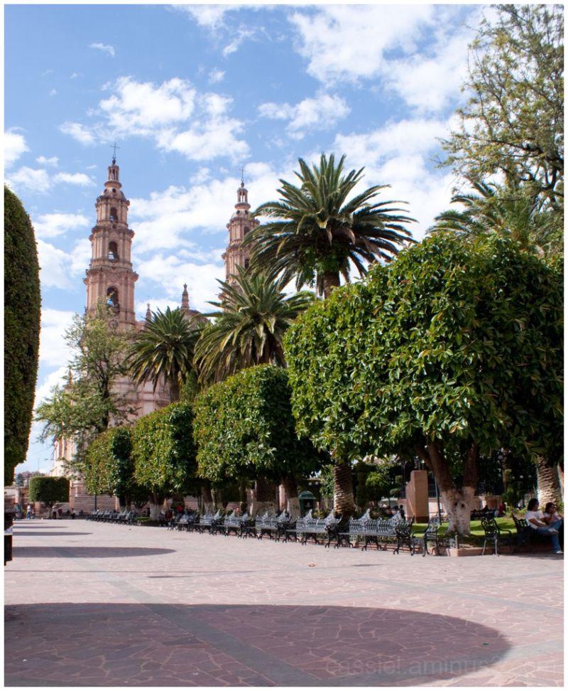 Catedral. Lagos de Moreno, Plaza