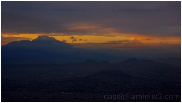 Amanecer en los volcanes