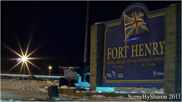 Kingston @ night - Fort Henry