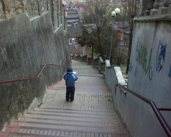 Eternal stairs...