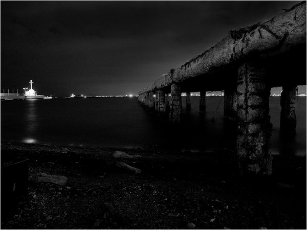 Nightly pier