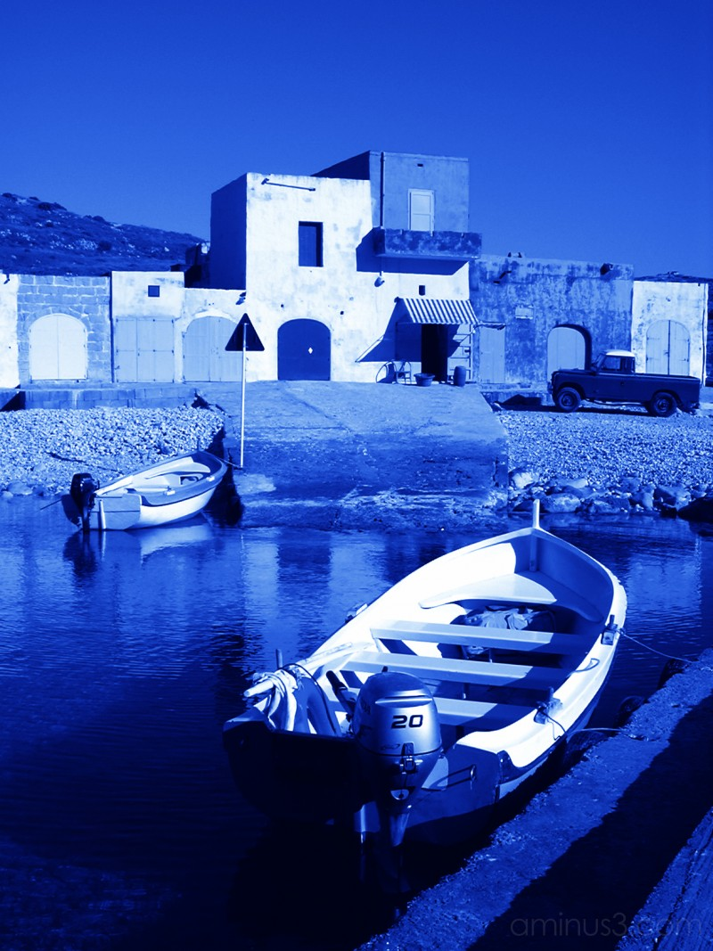 Boats at Dwejra