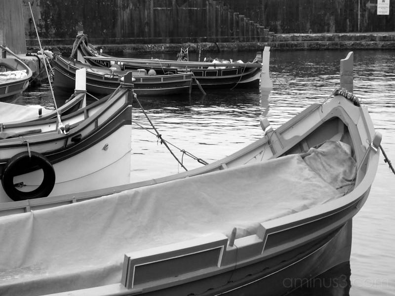 Boats in Marsalforn
