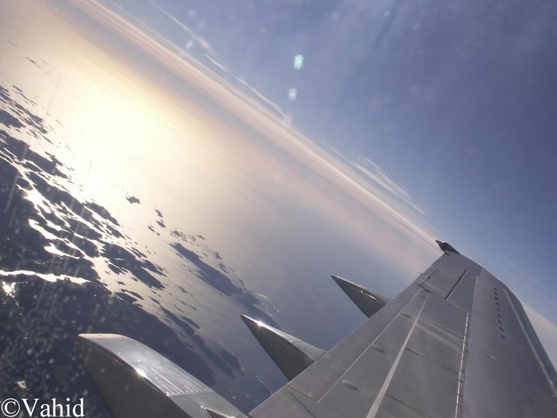 Coast from sky