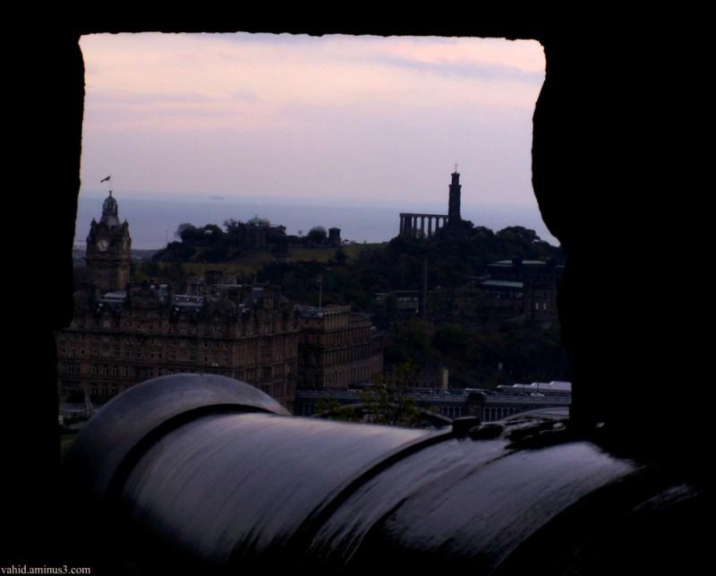 Cannon in Edinburgh Castle