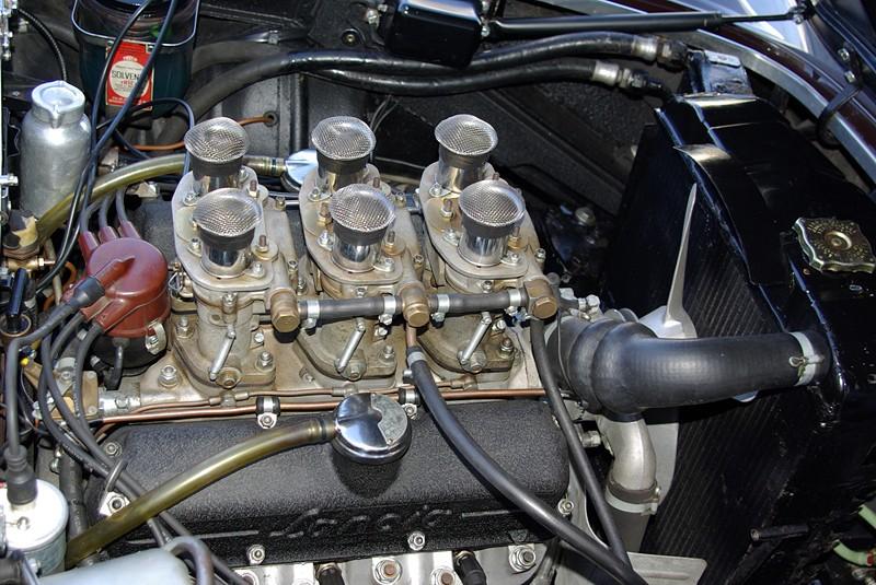 Moteur 6 cylindres de Lancia Zagato