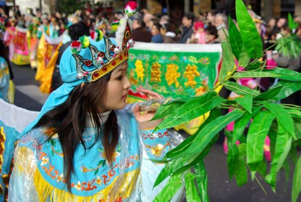 Parade du Nouvel an chinois