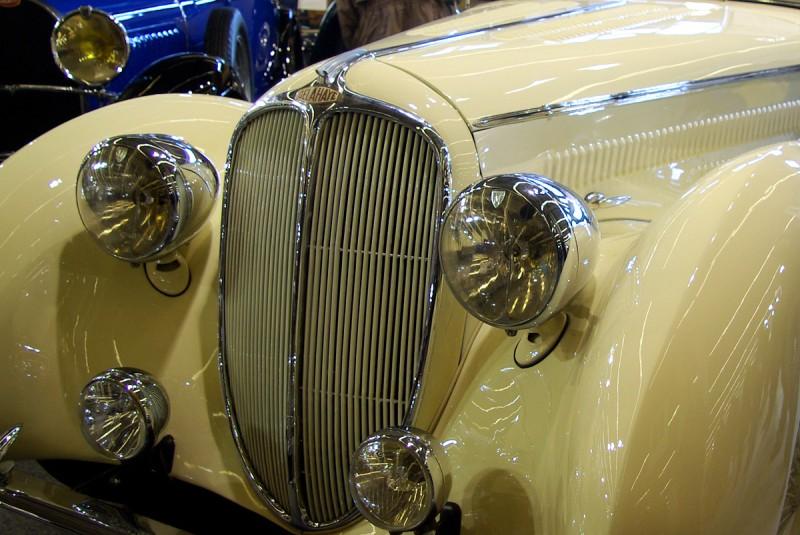 Magnifique Delahaye 148 au salon Rétromobile 2007