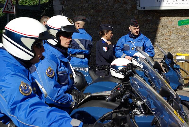 Gendarmerie - Escorte des courses cyclistes