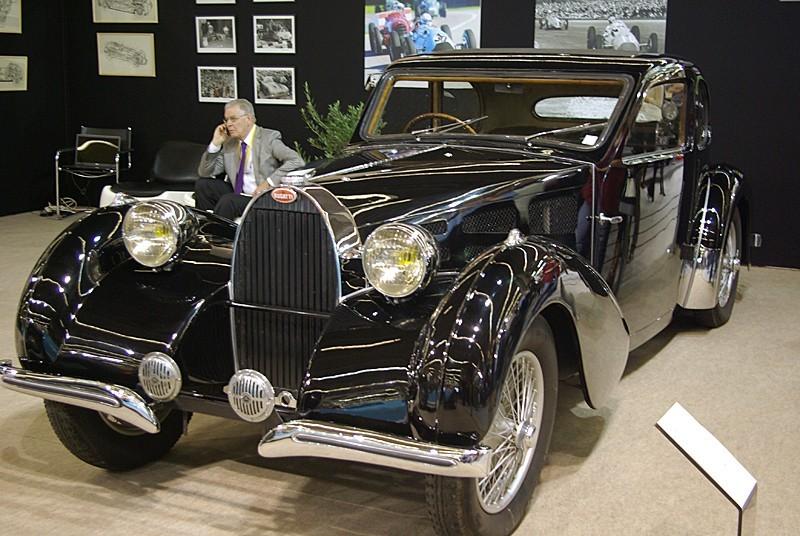 Bugatti à Rétromobile 2007