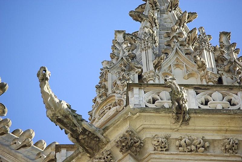 Gargouilles au Château de Vincennes