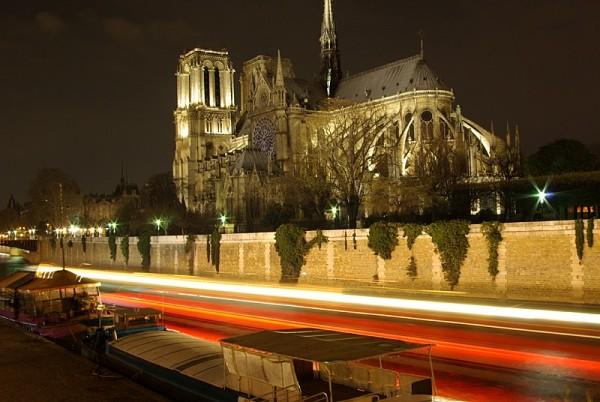 Notre-Dame de Paris, vue de nuit