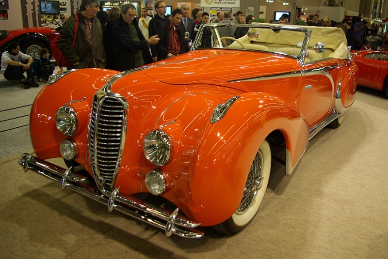 Delahaye au Salon Rétromobile 2007