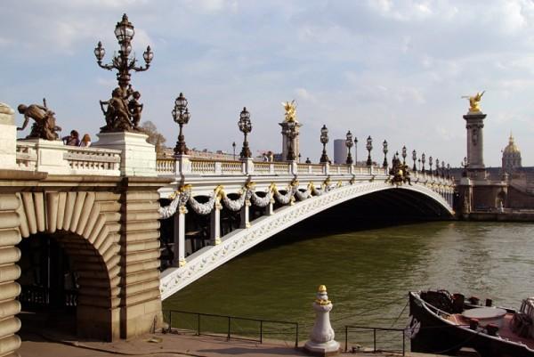 Pont Alexandre III à Paris