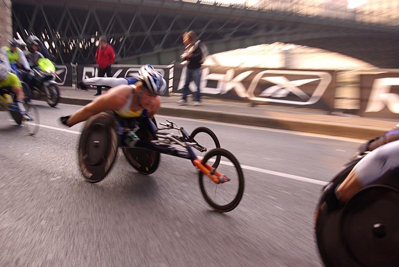 Marathon de Paris 2007 - Catégorie handisport